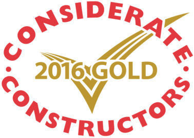 Triple win at Considerate Constructors Site Awards 2016