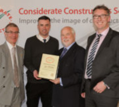 Considerate Constructors Scheme National Site Awards 2014