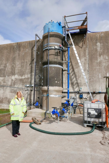 Hybrid system integrating Oxygen Enrichment into existing aeration process using site-won Oxygen
