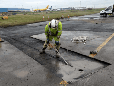 Belfast International Airport - Taxiway Charlie Phase 1 Rehabilitation Works