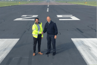 RAF Northolt Runway Rehabilitation & Arrestor Beds