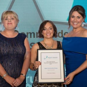 Highly Commended at the Legal-Island Equality and Diversity Award