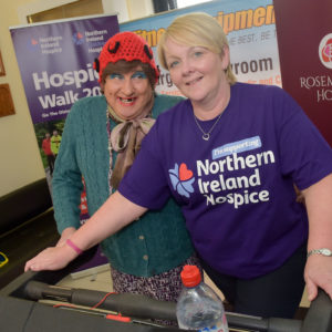 NI Hospice Coffee Morning at HQ