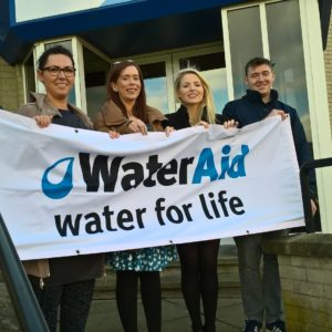 Supporting WaterAid Sept 17