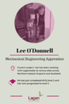 Lee O'Donnell - Apprentice Civil Engineer