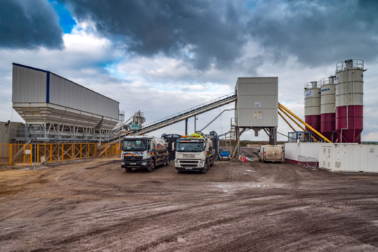 MEKA 110m3 Per Hour Concrete Batching Plant