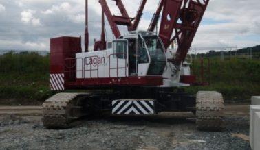 CKE1350 – 135ton Crawler crane