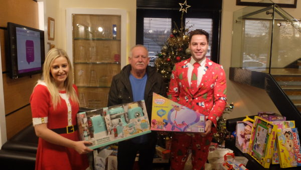 Christmas Appeal Jenny Brady Gerry Ferrin Svp Diarmaid Mcphillips