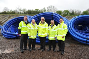 Lagan Construction Group helps NI Water Exceed Watermains Target!