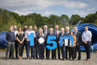 1.5 Million Metre Water Milestone Reached on NI Water Project!