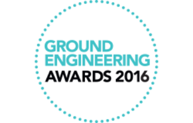 FK Lowry Piling shortlisted at Ground Engineering Awards 2016