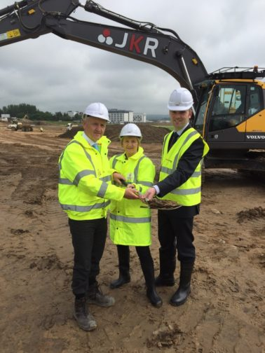Lagan Construction Group start work on Dyce park and choose