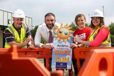 Lagan Construction Group encourage workers to think Safe Sun