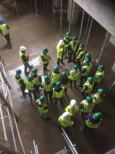 Ulster University Site Team hosts Student Site Visit