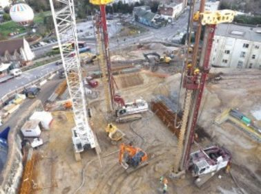 FK Lowry completes Piling works at Hilton Hotel