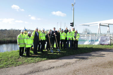 Works at Bridge Rd Widening Scheme commences in Devon