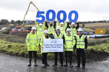 5000 Pipes Milestone Reached For £14m Project!