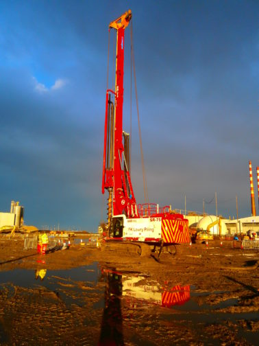 FK Lowry Piling commences work on one of Irelands largest Piling Contracts
