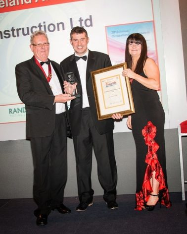 Success at the Northern Ireland Safety Group's 2013 Awards