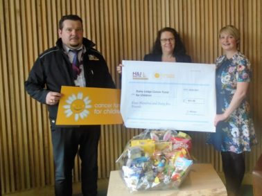 Easter Hamper Draw Raises Funds For Daisy Lodge Facility