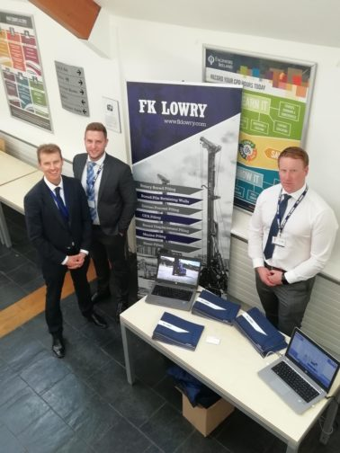 FK Lowry exhibits at the Quality Control/Quality Assurance of Deep Foundations Testing & Analysis Workshop