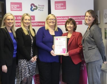 Shortlisted for BITC responsibility award
