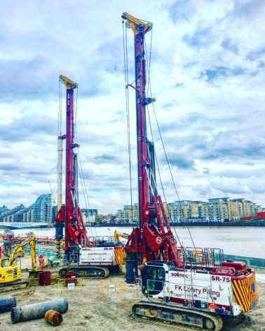 FK Lowry Awarded £3.6M Thames Tideway Contract