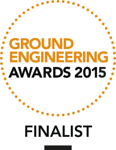 FK Lowry Piling finalists at the Ground Engineering Awards 2015