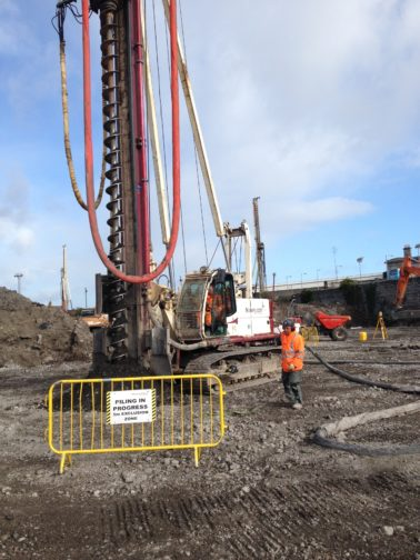 FK Lowry Completes Piling at Grangegorman, Dublin