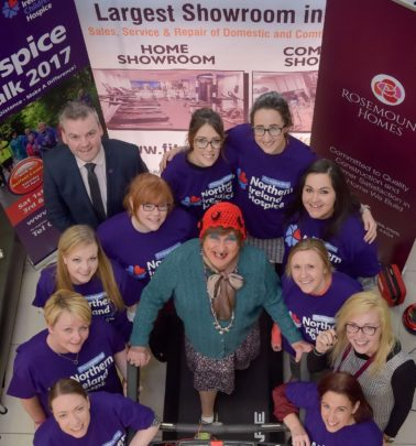 Successful Fundraiser for NI Hospice's April Fools Walk