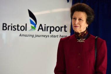 ROYAL OPENING OF £8.6 MILLION BRISTOL AIRPORT DEVELOPMENT