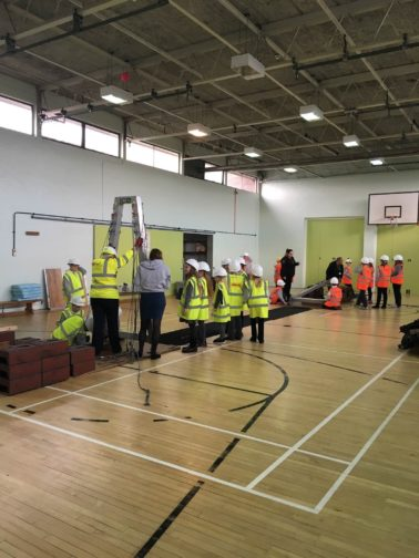 Sisk Lagan JV educate children on Civil Engineering