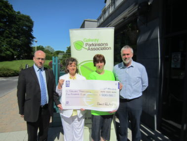N17 N18 Health & Safety Initiative donates to Galway Parkinsons Association