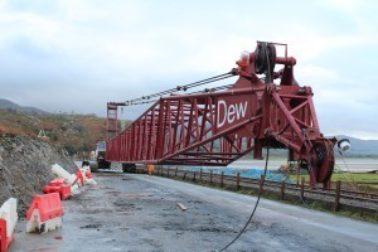 Dew Piling completes Cofferdam works at Rail Bridge Contract