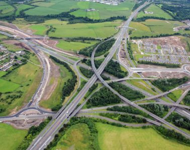 Scottish Motorway Project recycles over 90% of its waste