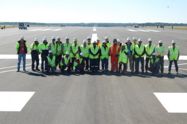 Lagan Construction International complete Phase I of NASWF runway repairs