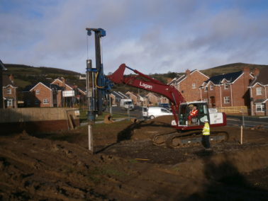 Piling works contract completed at Mount Eagles Housing Development