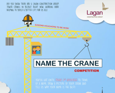 Lagan Construction Group launch NAME THE CRANE competition