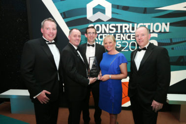 Lagan Construction Group wins Construction Excellence Award