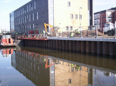 Dew Piling completes £213k Rotherham Canal Repair works