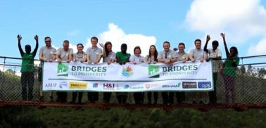 Ciara Doherty Joined other Northern Ireland civil engineers to connect communities with bridge in Rwanda
