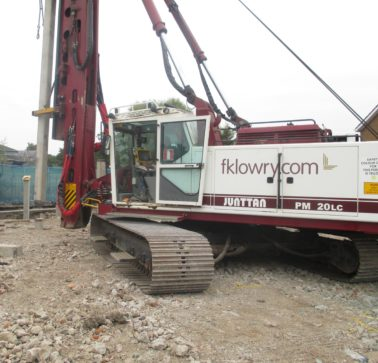 FK Lowry Piling completes Edinburgh Schools Project