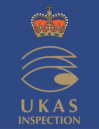 UKAS accreditation ISO/IEC 17020:2012 achieved