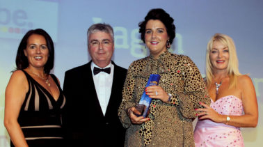 Lagan Construction Group land international prize at UTV Business Eye Awards