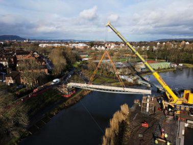 Charles Brand completes Major Lagan Bridge Lift
