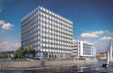Belfast Harbour awards Lagan Building Contractors £18m contract for City Quays 2 Office