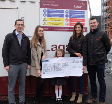 Lagan Building Contractors support The Princess Trust