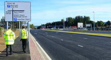 Aberdeen Airport link road opens to traffic