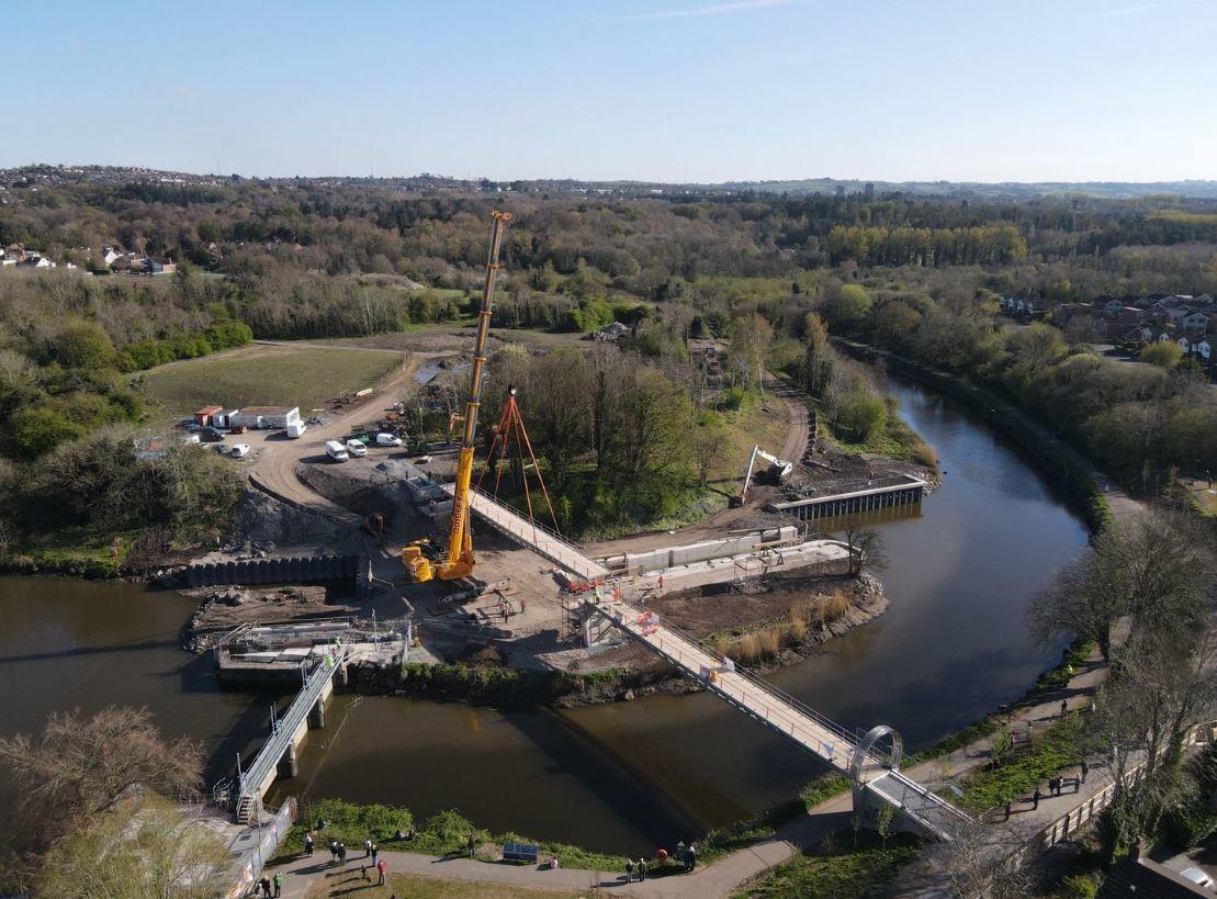 Lagan gateway second bridge lift charles brand